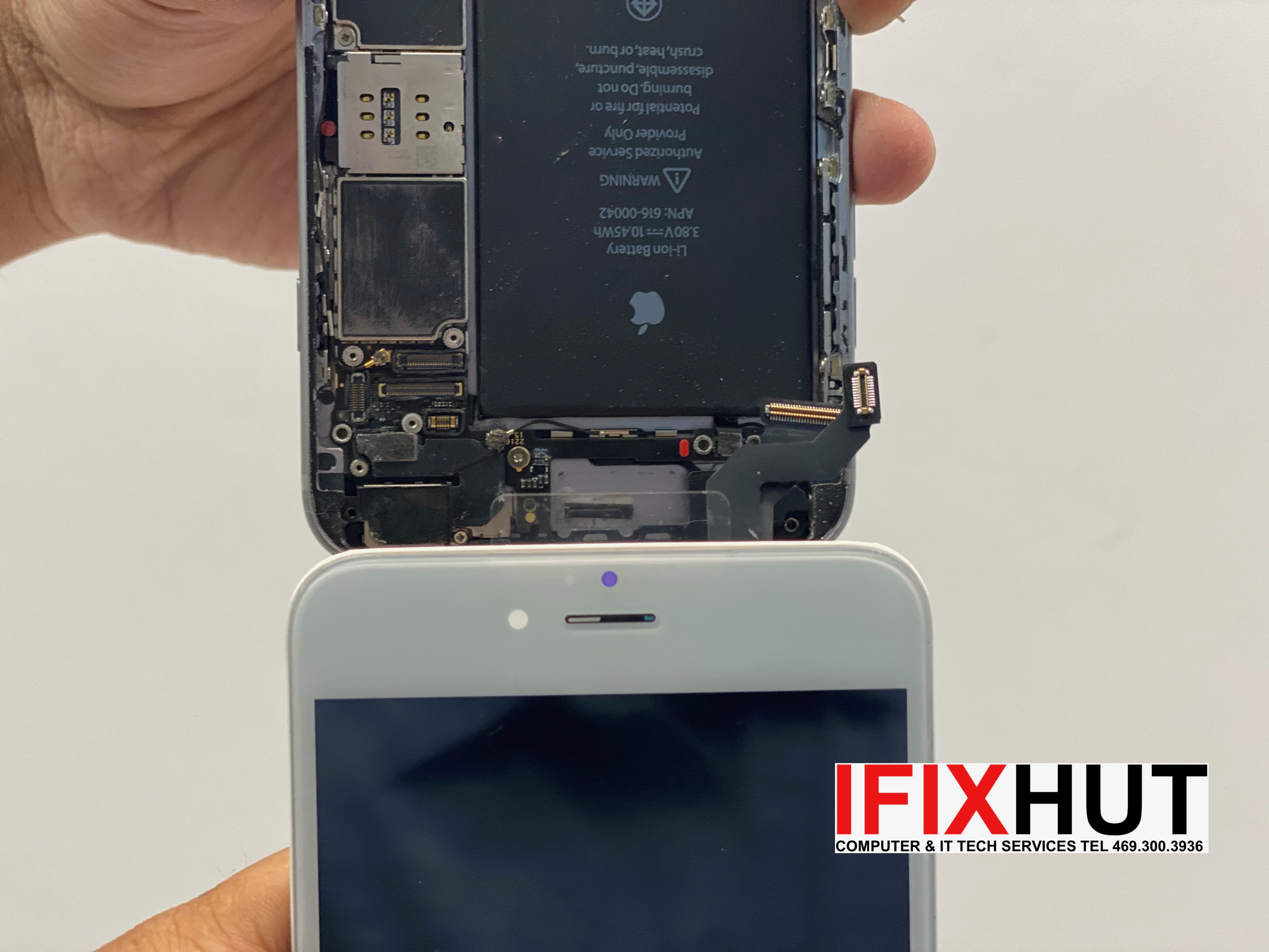 iPhone repair service near McKinney