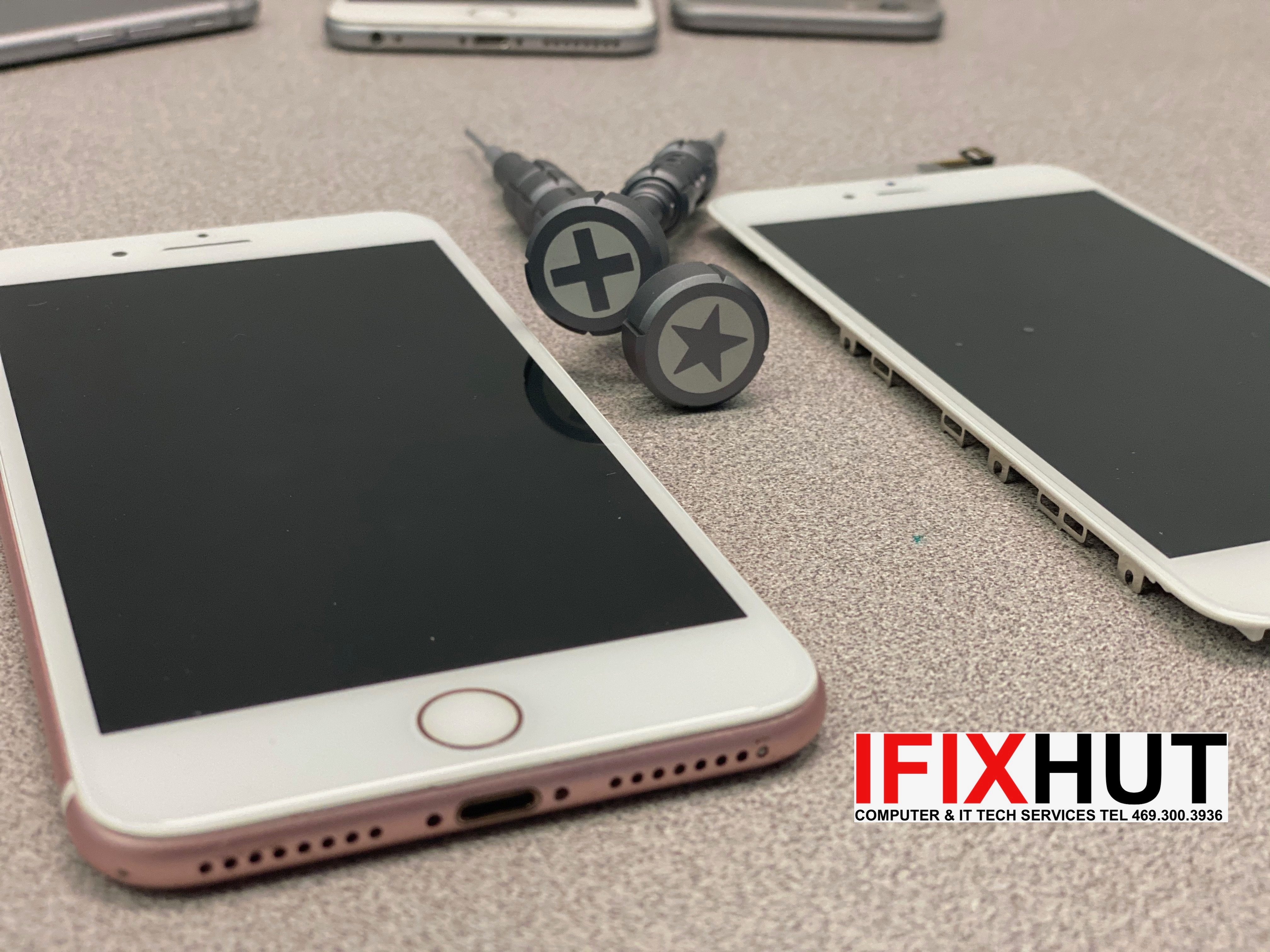 iPhone screen repair McKinney