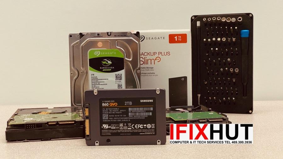 Hard drive computer upgrade Mac Service Mckinney