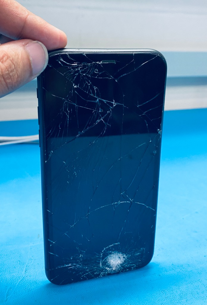 iPhone physical damage repair near historic downtown McKinney Texas