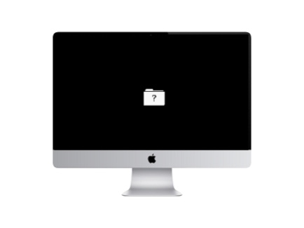 Apple iMac stuck at question mark sign