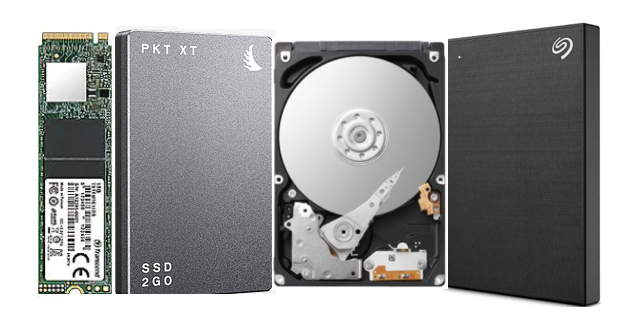 Hard drive and SSD data recovery