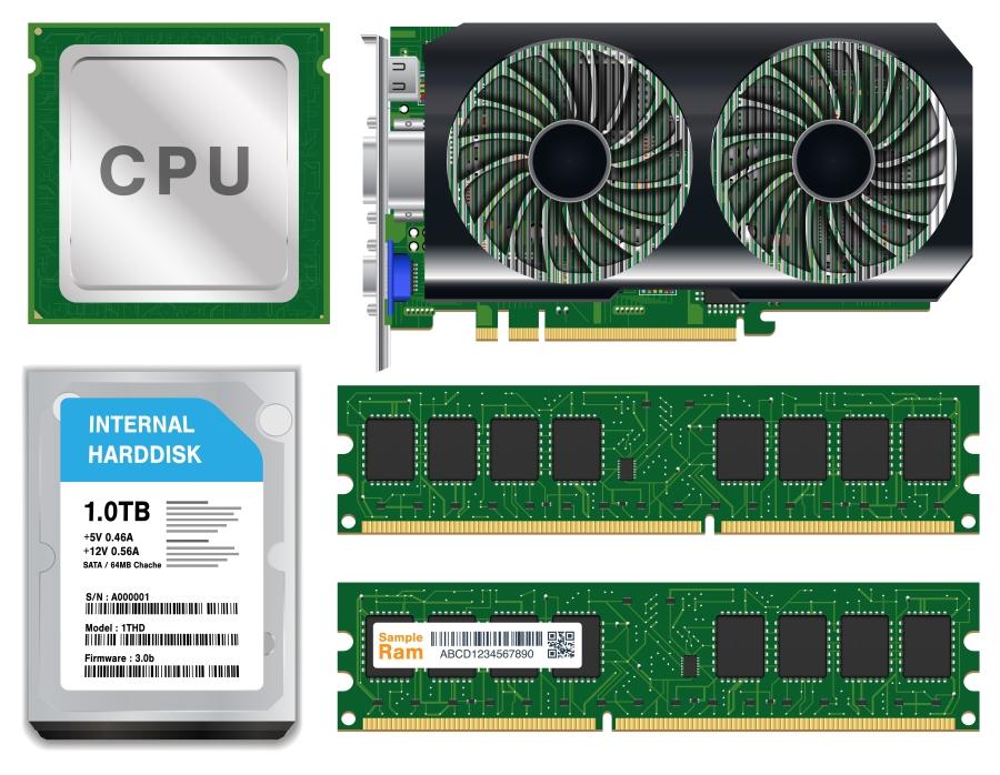 PC hard drive, Ram, Graphics card upgrade service Sherman Texas