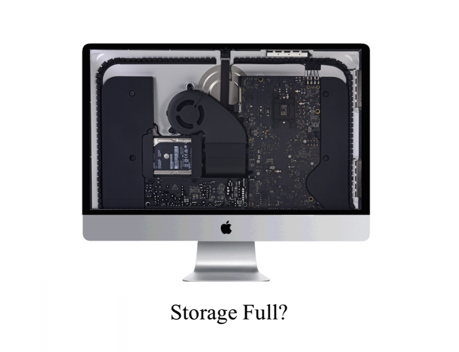 iMac hard drive upgrade Plano Texas. Full storage