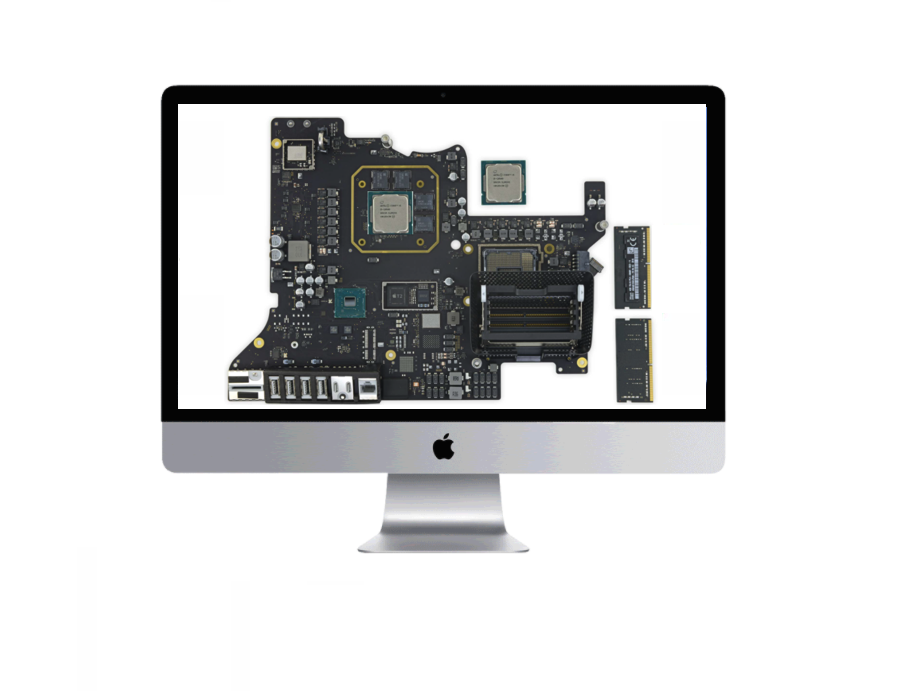 Apple desktop computer iMac logic board repair and replacement Sharman Texas