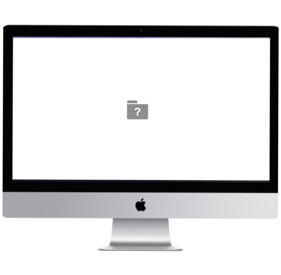 iMac stuck at wite question mark folder repair melissa