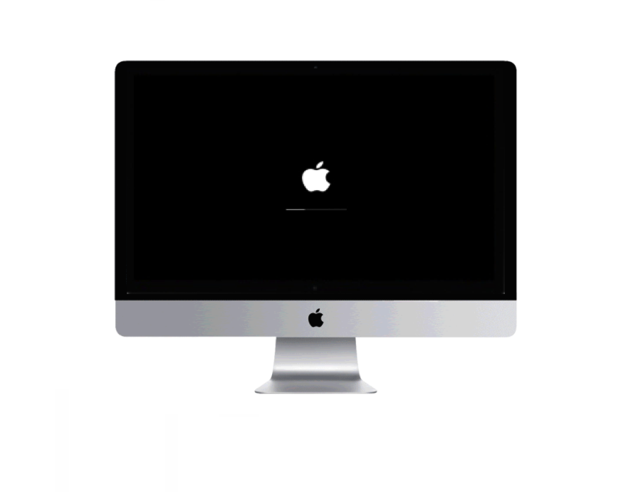 Apple desktop computer iMac stuck at apple logo repair Plano Texas
