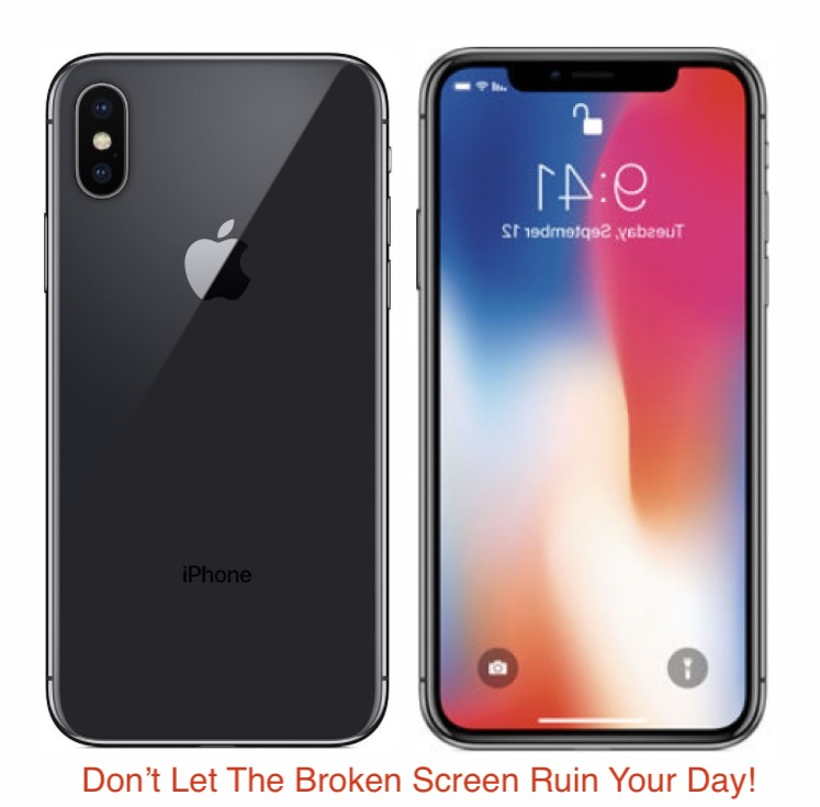 iPhone X Screen repair and replacement