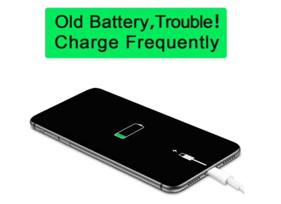 Apple iPhone X not charging battery problem.