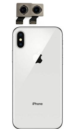 Apple iPhone X rear camera replacement service near McKinney Texas