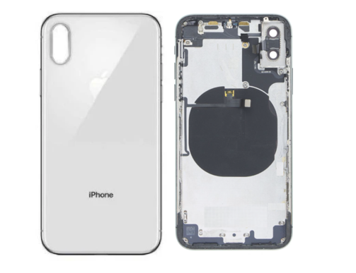 Apple iPhone X back glass broken shattered repair service McKinney Texas