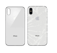 Apple iPhone X back cracked glass repair McKinney Texas