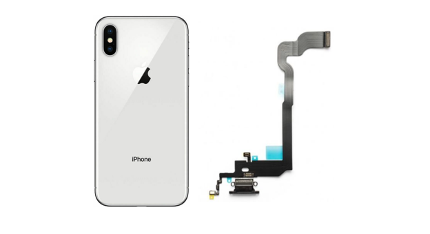 iPhone X charging lighting connecter repair and replacement service near McKinney Texas