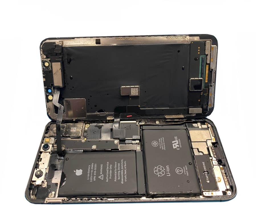 Apple iPhone X liquid damage logic board repair McKinney Texas