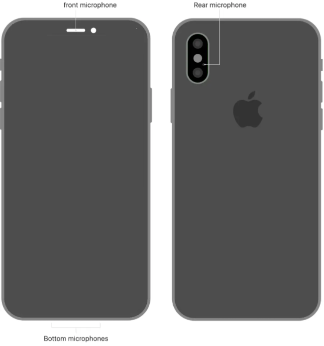Apple iPhone X microphone repair and replacement near McKinney Texas