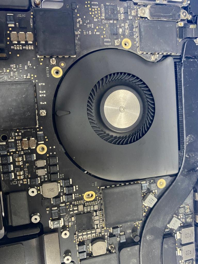 macbook loud fan overheating repair mckinney apple mac repair service
